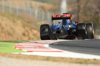 World © Octane Photographic Ltd. Lotus F1 Team E23 Hybrid – Romain Grosjean. Sunday 22nd February 2015, F1 Winter test #2, Circuit de Barcelona Catalunya, Spain, Day 4. Digital Ref :1191CB7B0887