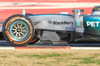 World © Octane Photographic Ltd. Mercedes AMG Petronas F1 W06 Hybrid – Nico Rosberg. Sunday 22nd February 2015, F1 Winter test #2, Circuit de Barcelona Catalunya, Spain, Day 4. Digital Ref : 1191CB7B0926