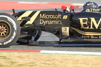 World © Octane Photographic Ltd. Lotus F1 Team E23 Hybrid – Romain Grosjean. Sunday 22nd February 2015, F1 Winter test #2, Circuit de Barcelona Catalunya, Spain, Day 4. Digital Ref :1191CB7B0931