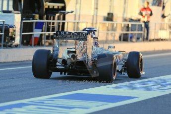 World © Octane Photographic Ltd. Infiniti Red Bull Racing RB11 – Daniil Kvyat. Sunday 22nd February 2015, F1 Winter testing, Circuit de Catalunya, Barcelona, Spain, Day 4. Digital Ref : 1191LB1D9109