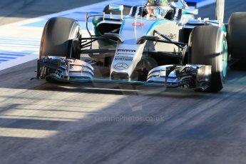 World © Octane Photographic Ltd. Mercedes AMG Petronas F1 W06 Hybrid – Nico Rosberg. Sunday 22nd February 2015, F1 Winter testing, Circuit de Catalunya, Barcelona, Spain, Day 4. Digital Ref : 1191LB1D9121