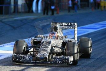World © Octane Photographic Ltd. Infiniti Red Bull Racing RB11 – Daniil Kvyat. Sunday 22nd February 2015, F1 Winter testing, Circuit de Catalunya, Barcelona, Spain, Day 4. Digital Ref : 1191LB1D9175