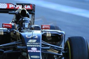 World © Octane Photographic Ltd. Lotus F1 Team E23 Hybrid – Romain Grosjean. Sunday 22nd February 2015, F1 Winter testing, Circuit de Catalunya, Barcelona, Spain, Day 4. Digital Ref : 1191LB1D9315