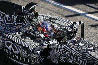 World © Octane Photographic Ltd. Infiniti Red Bull Racing RB11 – Daniil Kvyat. Sunday 22nd February 2015, F1 Winter test #2, Circuit de Barcelona, Catalunya, Spain, Day 4. Digital Ref : 1191LB1D9555