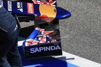 World © Octane Photographic Ltd. Scuderia Toro Rosso STR10 – Carlos Sainz Jnr. Sunday 22nd February 2015, F1 Winter test #2, Circuit de Barcelona, Catalunya, Spain, Day 4. Digital Ref: 1191LB1D9575