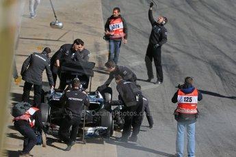 World © Octane Photographic Ltd. Mercedes AMG Petronas F1 W06 Hybrid – Nico Rosberg. Sunday 22nd February 2015, F1 Winter test #2, Circuit de Barcelona, Catalunya, Spain, Day 4. Digital Ref : 1191LB1D9600