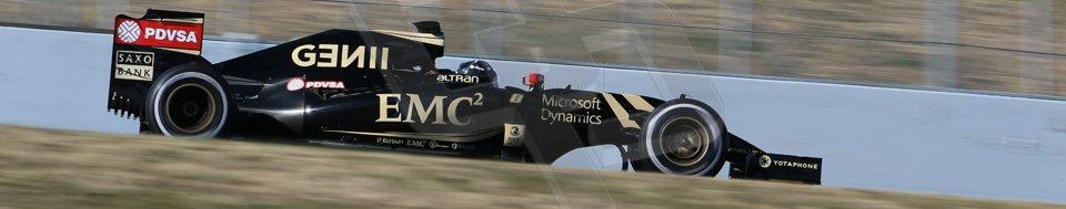 World © Octane Photographic Ltd. Lotus F1 Team E23 Hybrid – Romain Grosjean. Sunday 22nd February 2015, F1 Winter test #2, Circuit de Barcelona, Catalunya, Spain, Day 4. Digital Ref :1191LB1D9747