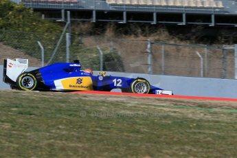 World © Octane Photographic Ltd. Sauber F1 Team C34-Ferrari – Felipe Nasr. Sunday 22nd February 2015, F1 Winter test #2, Circuit de Barcelona, Catalunya, Spain, Day 4. Digital Ref : 1191LB1D9872