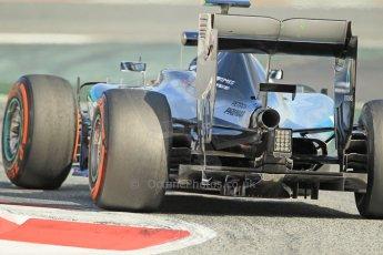 World © Octane Photographic Ltd. Mercedes AMG Petronas F1 W06 Hybrid – Nico Rosberg. Sunday 1st March 2015, F1 Winter test #3, Circuit de Barcelona-Catalunya, Spain Test 2 Day 4. Digital Ref: 1195CB1L4729
