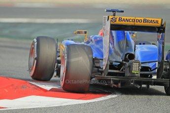 World © Octane Photographic Ltd. Sauber F1 Team C34-Ferrari – Felipe Nasr. Sunday 1st March 2015, F1 Winter test #3, Circuit de Barcelona-Catalunya, Spain Test 2 Day 4. Digital Ref: 1195CB1L4754