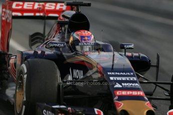 World © Octane Photographic Ltd. Scuderia Toro Rosso STR10 – Max Verstappen. Sunday 1st March 2015, F1 Winter test #3, Circuit de Barcelona-Catalunya, Spain Test 2 Day 4. Digital Ref: 1195LB1D3495