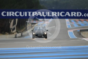 World © Octane Photographic Ltd. Pirelli wet tyre test, Paul Ricard, France. Monday 25th January 2016. Pirelli checking the track after the Deluge system was on. Digital Ref: 1498CB1D8339