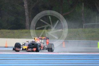 World © Octane Photographic Ltd. Pirelli wet tyre test, Paul Ricard, France. Monday 25th January 2016. Red Bull Racing RB11 – Daniel Ricciardo. Digital Ref: 1498CB1D8490