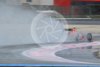 World © Octane Photographic Ltd. Pirelli wet tyre test, Paul Ricard, France. Monday 25th January 2016. Red Bull Racing RB11 – Daniel Ricciardo. Digital Ref: 1498CB1D8782