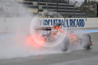 World © Octane Photographic Ltd. Pirelli wet tyre test, Paul Ricard, France. Monday 25th January 2016. Ferrari SF15-T – Kimi Raikkonen. Digital Ref: 1498CB1D8958