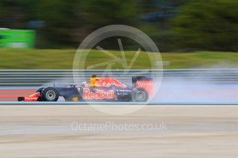 World © Octane Photographic Ltd. Pirelli wet tyre test, Paul Ricard, France. Monday 25th January 2016. Red Bull Racing RB11 – Daniel Ricciardo. Digital Ref: 1498CB7D5169