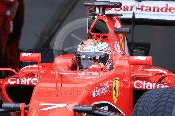 World © Octane Photographic Ltd. Pirelli wet tyre test, Paul Ricard, France. Monday 25th January 2016. Ferrari SF15-T – Kimi Raikkonen. Digital Ref: 1498LB5D5228