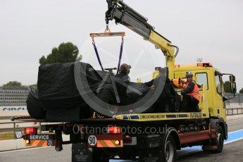 World © Octane Photographic Ltd. Pirelli wet tyre test, Paul Ricard, France. Monday 25th January 2016. McLaren Honda MP4/30 – Stoffel Vandoorne. Digital Ref: 1498LB5D5458