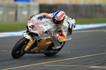 © Octane Photographic Ltd. 2012 World Superbike Championship – European GP – Donington Park. Friday 11th May 2012. WSBK Friday Qualifying practice. Sylvain Guintoli - Ducati 1098R. Digital Ref : 0330cb1d3114