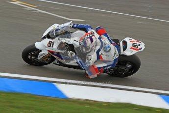 © Octane Photographic Ltd. 2012 World Superbike Championship – European GP – Donington Park. Friday 11th May 2012. WSBK Friday Qualifying practice. Leon Haslam - BMW S1000RR. Digital Ref : 0330cb7d1393