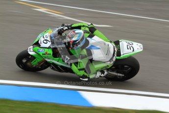 © Octane Photographic Ltd. 2012 World Superbike Championship – European GP – Donington Park. Friday 11th May 2012. WSBK Friday Qualifying practice. Leandro Mercado - Kawasaki ZX-10R. Digital Ref : 0330cb7d1454