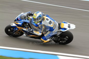 © Octane Photographic Ltd. 2012 World Superbike Championship – European GP – Donington Park. Friday 11th May 2012. WSBK Friday Qualifying practice. Michel Fabrizio - BMW S1000RR. Digital Ref : 0330cb7d1459