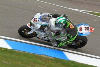 © Octane Photographic Ltd. 2012 World Superbike Championship – European GP – Donington Park. Friday 11th May 2012. WSBK Friday Qualifying practice. Peter Hickman - Suzuki GSX-R1000. Digital Ref : 0330cb7d1461