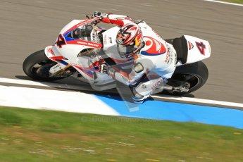 © Octane Photographic Ltd. 2012 World Superbike Championship – European GP – Donington Park. Friday 11th May 2012. WSBK Friday Qualifying practice. Hiroshi Aoyama - Honda CBR1000RR. Digital Ref : 0330cb7d1502