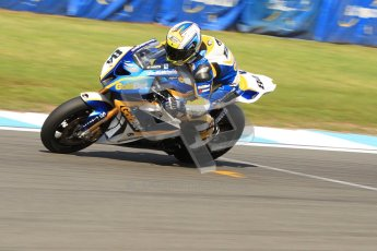 © Octane Photographic Ltd. 2012 World Superbike Championship – European GP – Donington Park. Friday 11th May 2012. WSBK Friday Qualifying practice. Michel Fabrizio - BMW S1000RR. Digital Ref : 0330cb7d1549