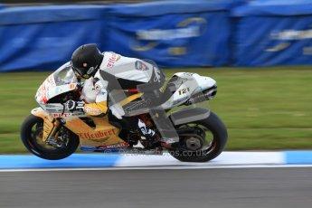 © Octane Photographic Ltd. 2012 World Superbike Championship – European GP – Donington Park. Friday 11th May 2012. WSBK Friday Qualifying practice. Maxime Berger - Ducati 1098R. Digital Ref : 0330cb7d1690