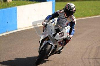 © Octane Photographic Ltd. 2012 World Superbike Championship – European GP – Donington Park. Friday 11th May 2012. WSBK Friday Qualifying practice. Marco Melandri - BMW S1000RR. Digital Ref : 0330cb7d1915