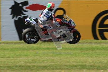 © Octane Photographic Ltd. 2012 World Superbike Championship – European GP – Donington Park. Friday 11th May 2012. WSBK Friday Qualifying practice. Davide Giuntoli - Ducati 1098R. Digital Ref : 0330lw7d3945