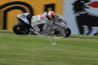 © Octane Photographic Ltd. 2012 World Superbike Championship – European GP – Donington Park. Friday 11th May 2012. WSBK Friday Qualifying practice. Lorenzo Zanetti - Ducati 1098R. Digital Ref : 0330lw7d4010