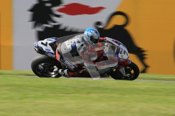 © Octane Photographic Ltd. 2012 World Superbike Championship – European GP – Donington Park. Friday 11th May 2012. WSBK Friday Qualifying practice. Carlos Checa - Ducati 1098R. Digital Ref : 0330lw7d4048
