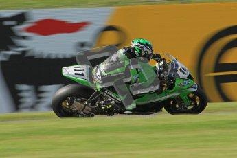 © Octane Photographic Ltd. 2012 World Superbike Championship – European GP – Donington Park. Friday 11th May 2012. WSBK Friday Qualifying practice. Gary Mason - Kawasaki ZX-10R. Digital Ref : 0330lw7d4203