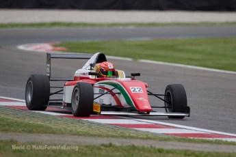 World © MaltaFormulaRacing. FIA F4 Italia testing Adria International Speedway - May 16th 2014. Tatuus F4 T014 Abarth. Digital Ref :