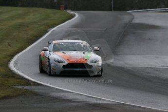 World © Octane Photographic Ltd. Avon Tyres British GT Championship Practice, Oulton Park, UK, Saturday 4th April 2015. Aston Martin GT4 Challenge – Pro/Am, Stratton – Jade Edwards and Chloe Edwards. Digital Ref : 1215LB1D2172