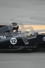 © Octane Photographic 2011. Formula 1 testing Sunday 20th February 2011 Circuit de Catalunya. Williams FW33 - Pastor Maldondado. Digital ref : 0010CB1D0984