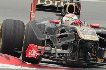 © Octane Photographic 2011. Formula 1 testing Sunday 20th February 2011 Circuit de Catalunya. Renault R31 - Vitaly Petrov. Digital ref : 0010CB1D2167