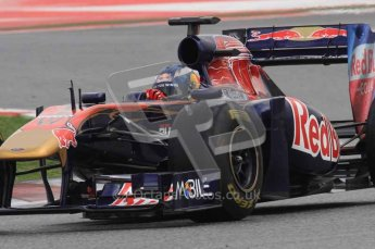 © Octane Photographic 2011. Formula 1 testing Sunday 20th February 2011 Circuit de Catalunya. Toro Rosso STR6 - Daniel Ricciardo. Digital ref : 0010LW7D3658