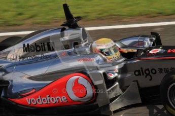 © Octane Photographic 2011. Formula 1 testing Sunday 20th February 2011 Circuit de Catalunya. McLaren MP4/26 - Lewis Hamilton. Digital ref : 0010LW7D4830