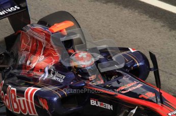 © Octane Photographic 2011. Formula 1 testing Sunday 20th February 2011 Circuit de Catalunya. Toro Rosso STR6 - Sebastien Buemi. Digital ref : 0010LW7D5147