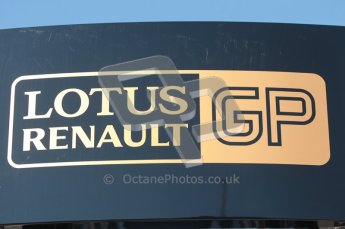 World © Octane Photographic 2010. © Octane Photographic 2011. Formula 1 testing Friday 18th February 2011 Circuit de Catalunya. Renault logo. Digital ref : 0024CB1D0250