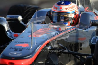 World © Octane Photographic 2010. © Octane Photographic 2011. Formula 1 testing Friday 18th February 2011 Circuit de Catalunya. McLaren MP4/26 - Jenson Button. Digital ref : 0024CB7D9705