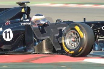 World © Octane Photographic 2010. © Octane Photographic 2011. Formula 1 testing Saturday 19th February 2011 Circuit de Catalunya. Williams FW33 - Rubens Barrichello. Digital ref : 0025CB1D0130