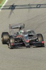 World © Octane Photographic 2010. © Octane Photographic 2011. Formula 1 testing Saturday 19th February 2011 Circuit de Catalunya. Hispania F110 - Vitantonio Liuzzi. Digital ref : 0025CB1D0316