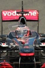 World © Octane Photographic 2010. © Octane Photographic 2011. Formula 1 testing Saturday 19th February 2011 Circuit de Catalunya. McLaren MP4/26 - Jenson Button. Digital ref : 0025CB1D0349