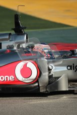 World © Octane Photographic 2010. © Octane Photographic 2011. Formula 1 testing Saturday 19th February 2011 Circuit de Catalunya. McLaren MP4/26 - Jenson Button. Digital ref : 0025CB1D0366