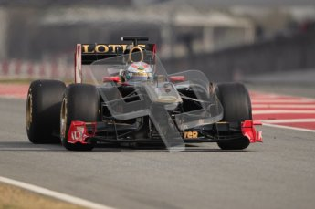 World © Octane Photographic 2010. © Octane Photographic 2011. Formula 1 testing Saturday 19th February 2011 Circuit de Catalunya. Renault R31 - Vitaly Petrov. Digital ref : 0025CB1D0908