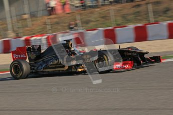 World © Octane Photographic 2010. © Octane Photographic 2011. Formula 1 testing Saturday 19th February 2011 Circuit de Catalunya. Renault R31 - Vitaly Petrov. Digital ref : 0025CB5D0039